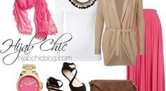 Hijab Style: Vero Moda necklace