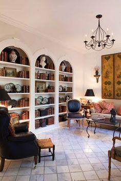 Arched Bookcase French Armoire Apartment Charleston Homes Home Lighting Dining Area