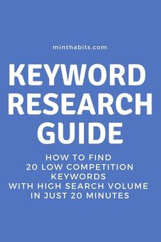 The secret to getting massive traffic from Google is finding low competition keywords with high search volume that ranks and makes you money. Here's how...