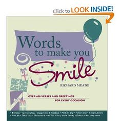 Words To Make You Smile p/b: Amazon.co.uk: Richard Meade: Books