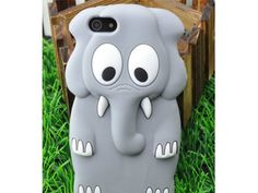 Cute 3D Animal Elephant Silicone Case Cover Skin for iPhone 5 Gray - http://www.mobilebliss.com/cute-3d-animal-elephant-silicone-case-cover-skin-for-iphone-5-gray - http://ecx.images-amazon.com/images/I/415B%2B-eorBL.jpg