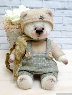 Мишка от Егоровой Веры с выкройкой. Купить игрушки ручной работы можно в Шопике