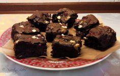 Raspberry and Hazelnut Chocolate Brownies