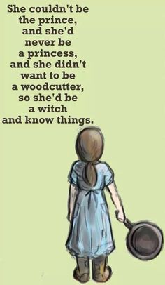 """She chose to be a witch because she wanted knowledge. ~ Tiffany Aching, possibly my all-time favourite cgharacter - and witch. (and I do know a few!!) (text in meme From """"The Wee Free Men"""" by Terry Pratchett)"""