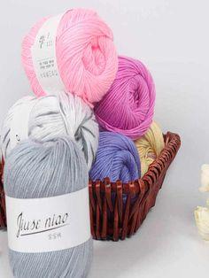 Colores de lanas para tejer Knitting Yarn, Baby Knitting, Crochet Yarn, Hippie Chic, Porch Decorating, Lana, Wool Blend, Retro Vintage, Milk