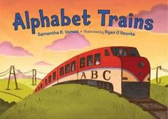 Around the world from land to sea, trains work hard from A to Z! This picture book explores a different train for each letter of the alphabet.