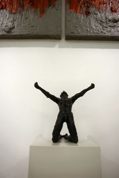 Victory - Jacques Vanroose Modern Sculpture, Sculpture Art, Victorious, Figurative, Drawings, Creative, Painting, Interiors, Contemporary