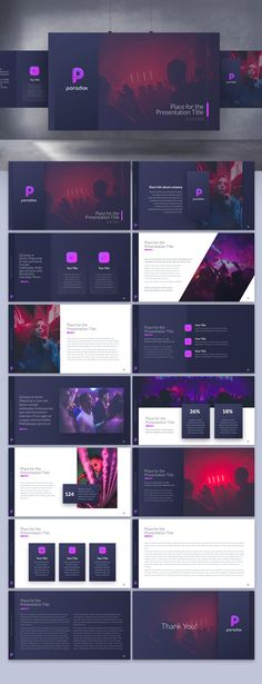 Cool, sexy nightclub app needs deck for pitching to high-pro Web Design Trends, Design Web, Website Design, Slide Design, Web Design Inspiration, Design Layouts, Brochure Design, Graphic Design, Presentation Design Template