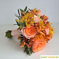 Картинки по запросу букет невесты персиковый