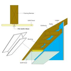 Soffit H-Mold | HM | Soffit Transition Trim Products by XtremeTrim®