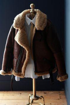 77 Best Sheepskin Bomber Flight Jackets Images Fur Jackets Jacket