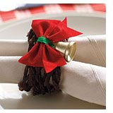 Christmas napkin rings Christmas Napkin Rings, Christmas Napkins, All Things Christmas, Christmas Holidays, Merry Christmas, Xmas, Holiday Ideas, Christmas Ideas, Christmas Decorations