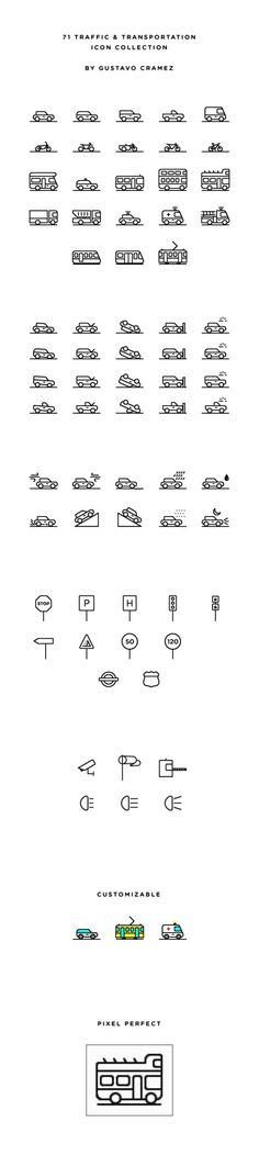 60 Free Outline Icon Sets Perfect for Contemporary Designs – Design School