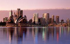 Sydney Skyline Australia HD Desktop 1920 X 1080 Wallpapers