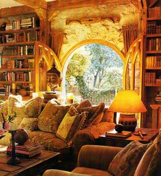 I would spend days reading here