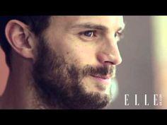 Jamie Dornan behind the Scens of ELLE UK Magazine Photoshoot 2014