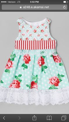 Parkers birthday dress!!
