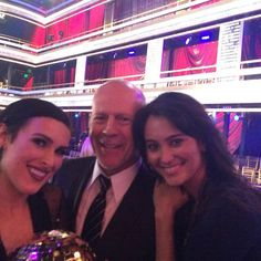Dancing With the Stars  -  Bruce Willis & family Season 20  -  Week 10 finale  -  Spring 2015