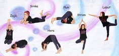 Jóga pro děti - Cvičení na rozvoj pozornosti Little Girl Leggings, Girls Leggings, Cute Little Girls, Stay Fit, Pilates, Anna, Sports, Gymnastics, Pop Pilates