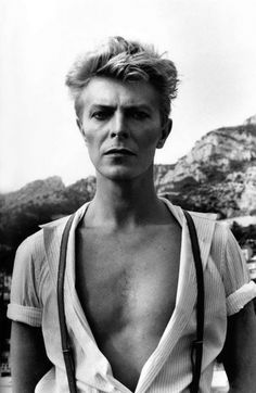 David Bowie | by Helmut Newton