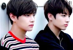 V & Jungkook Star 1 Magazine ♡ Them Jawline is like  their visuals though.. oh my goodness ❤️ , i CANT BrEAtH.. akdjsn