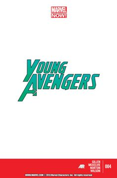 Young Avengers Vol. 2 #4 | Community Post: 30 Animated Comic Book Covers That Are Downright Hypnotizing