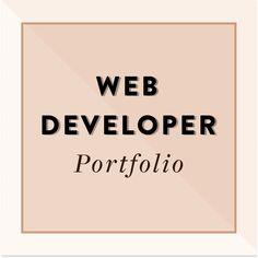 Web Developer Portfolio, Best Web, Web Development