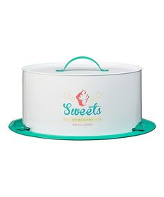 Another great find on #zulily! 'Sweets' Cake Saver #zulilyfinds