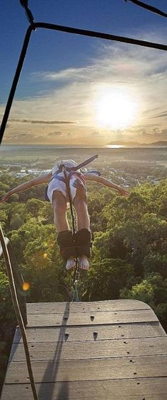Bungee is an activity that involves jumping from a tall structure while connected to a large elastic cord. It is a great thing to do all over the world – even in your city!