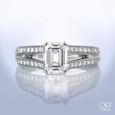 Design your special manufactured diamond ring according to your wishes #yorxs #diamantring #sonderanfertigung