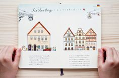 "Kondo Yoshie : travel book "" Germany """