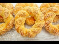 Πρωϊνά - YouTube Middle Eastern Sweets, Middle Eastern Recipes, Arabic Food, Bread Recipes, Biscuits, Recipies, Food And Drink, Cookies, Breads