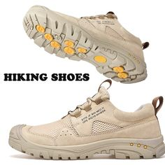 2020 New Brand Profesional Mens Womens Hiking Shoes Outdoor Spring Breathable Hiking Sneakers Women Anti Slip Hunting Trainers Hiking Sneakers, Hiking Shoes, Men Hiking, Real Leather, Trainers, Sneakers Women, Brand New, Unisex, Women's Shoes