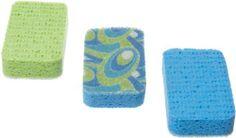 $6 Casabella Scrubby Sponges, 3-Pack, Blue by Casabella, http://www.amazon.com/dp/B0000CFNCV/ref=cm_sw_r_pi_dp_NGscrb0DJ5K2F