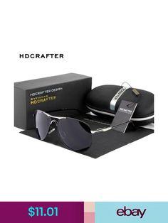 3c45585ba7 Men Black Polarized Aviator Glasses Outdoor Sports Eyewear Driving UV  Sunglasses