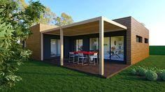 """MAISON BOOA : nouveau projet fait à partir du modèle """"moov4""""• ATTENTION RISQUE DE COUP DE FOUDRE votre maison archi-design & 100% modulable fabriquée en France à prix direct fabricant en quelques mois seulement et posée en 1 journée."""