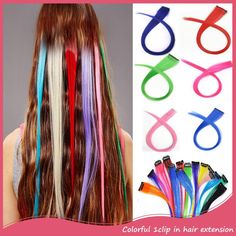 7pcsset clip in hair extensions 20inch 50cm curly wavy synthetic 3pcs synthetic long straight clip in hair extension 20inch 50cm colored hair extension natural false hairpieces pmusecretfo Images