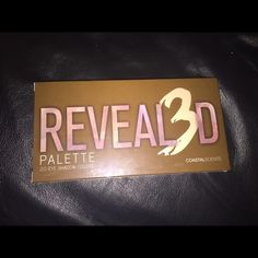 Revealed 3D palette coastalscents BRAND NEW!BUYNOW In packaging Makeup Eyeshadow
