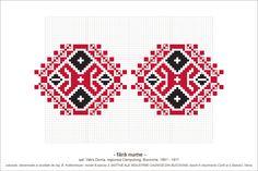 Bead Loom Designs, Bead Loom Patterns, Beading Patterns, Cross Stitch Patterns, Creative Embroidery, Folk Embroidery, Embroidery Patterns, Simple Cross Stitch, Knitting Charts
