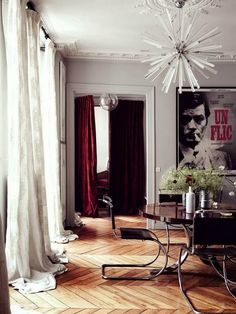 Interiors   French Paneling & Wood Floors - DustJacket Attic