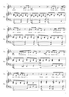 Christina Aguilera - Beautiful (Piano + Voice) | MuseScore