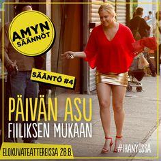 Amy Schumerin komedia Ihan yössä nyt elokuvateattereissa! #ihanyössä #päivänasu