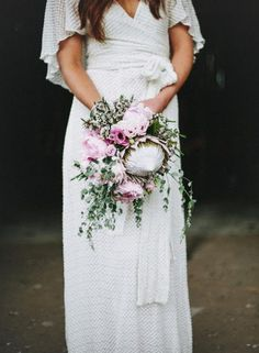 Protea Bouquets / See styling tips from florist Merrin Grace on The LANE…