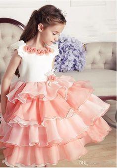 детские платья многоярусные - Поиск в Google