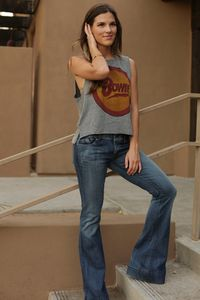 Chaser Bowie Crop Muscle Tee ON SALE @ www.hintboutique.com