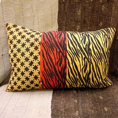 Safari Cushion IX, £60, now featured on Fab.