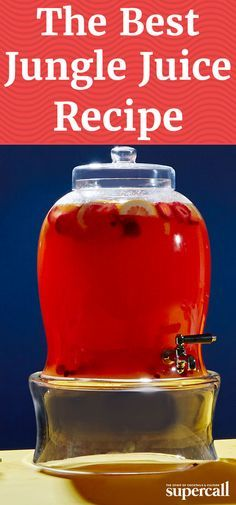 how to make jungle juice drug