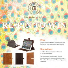 Following up on our first summer giveaway, we've happy to announce that we've got a fresh one lined up. :) This time we're letting the winner handpick one of our leather protection accessories for tablets (check our full catalogue here: www.dbramante1928.com). Best of luck to all of you!
