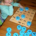 √ Letter J Words for Preschool. 7 Letter J Words for Preschool. Match Letters with This Easy Preschool Math Game Toddler Learning Activities, Preschool Learning Activities, Alphabet Activities, Infant Activities, Teaching Kids, Activities For Kids, Painting Activities, Toddler Educational Games, Games For Toddlers