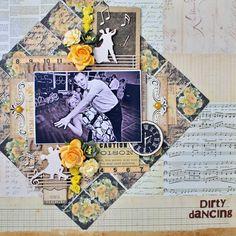 Crafty by AgnieszkaBe: Prima Prima Marketing, Dirty Dancing, Impreza, 9 And 10, Layout, Dance, Crafty, Art, Dancing